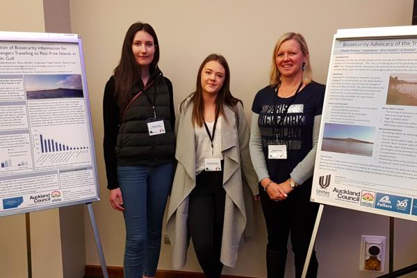 Unitec impresses at NZ Biosecurity Institute conference