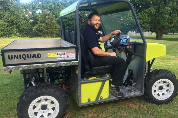 UniQuad pushes boundaries in hydrogen power and farm safety