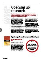 advance Mag ePress Article