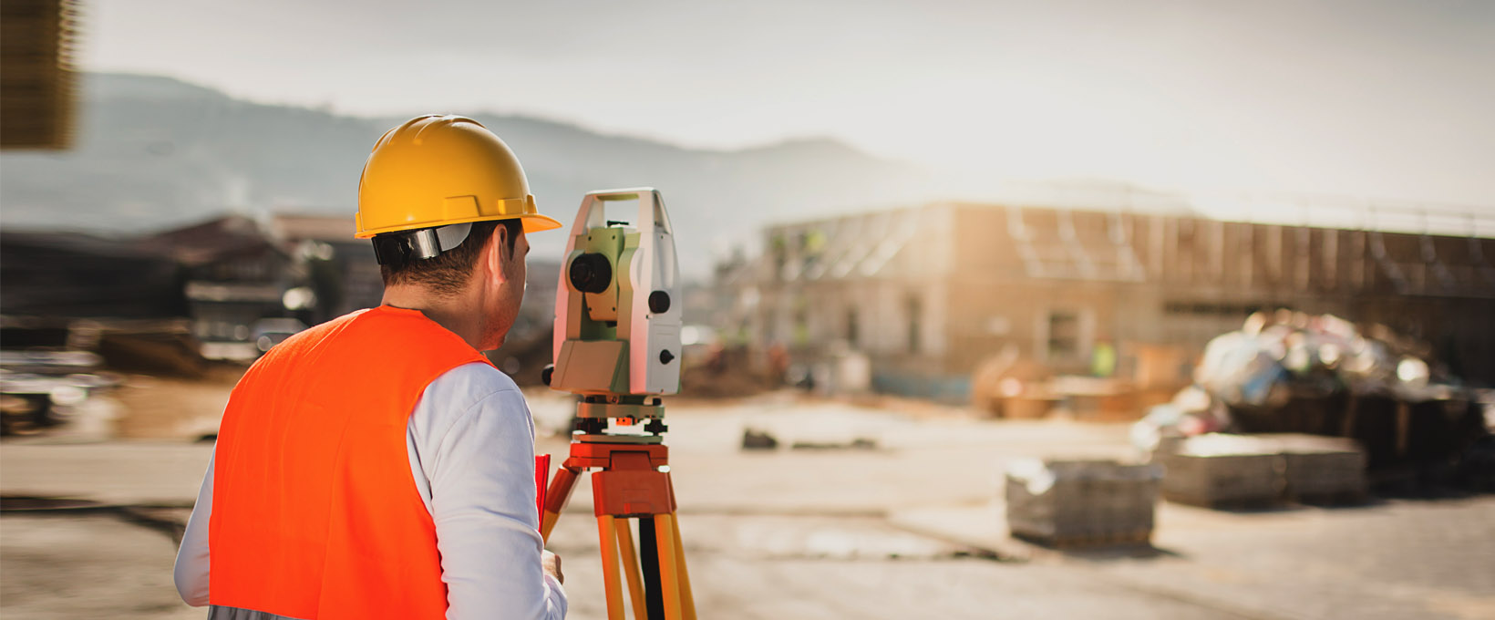 Land Surveying header image