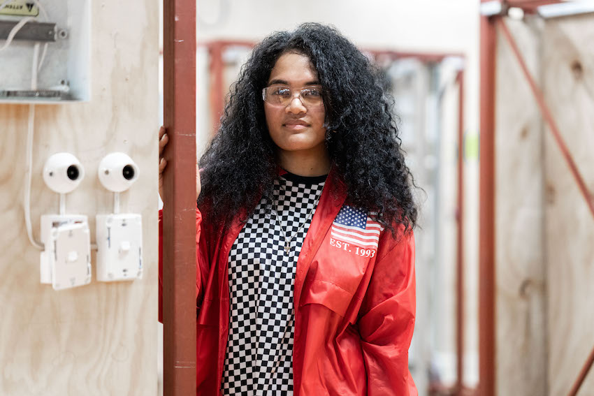 Sela Pohiva studies Electrical and Electronics Engineering at Unitec