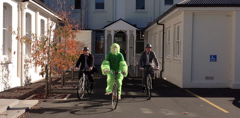 green gorilla book a bike