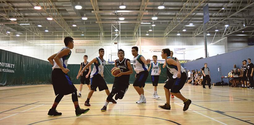 Unitec joins Harbour Basketball to grow secondary school participation