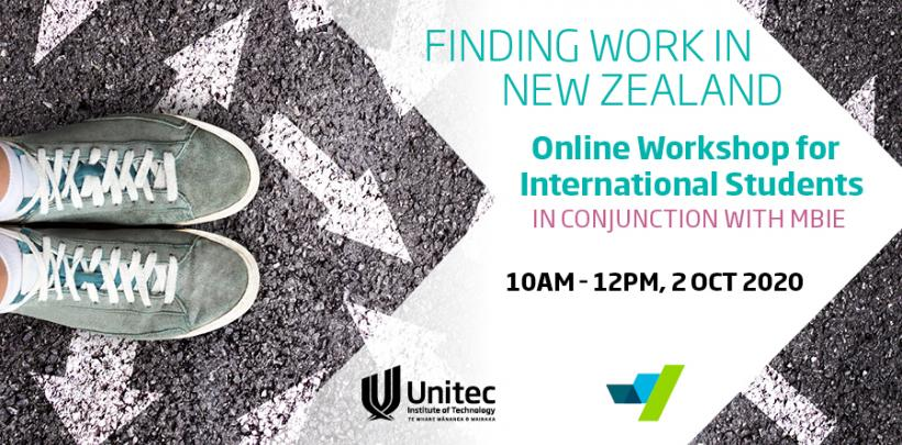 Finding Work in NZ Banner