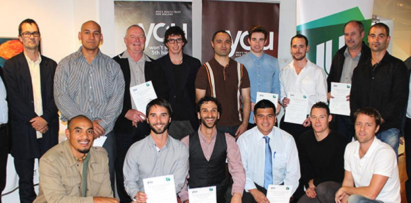 Studnets awarded Men's Health Scholarships