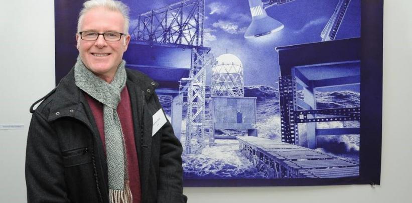 Master of Design graduate, Stephen Ellis