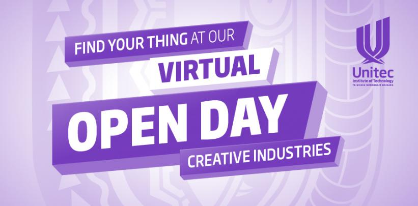 Creative Industries - Virtual Open Day