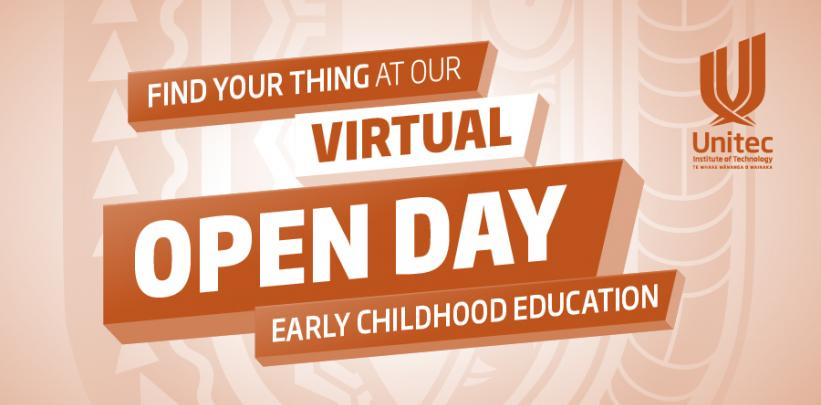 Early Childhood Education - Virtual Open Day