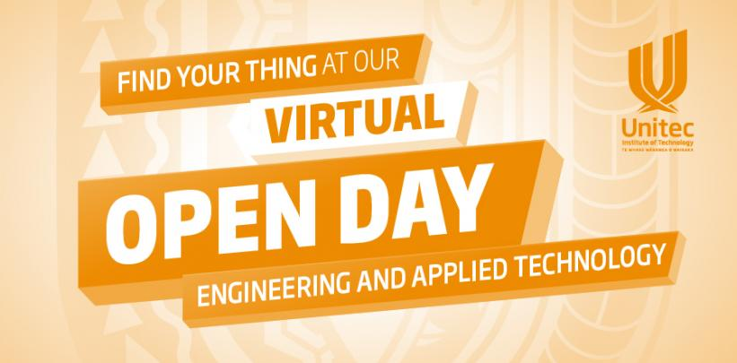 Engineering and Applied Technology - Virtual Open Day