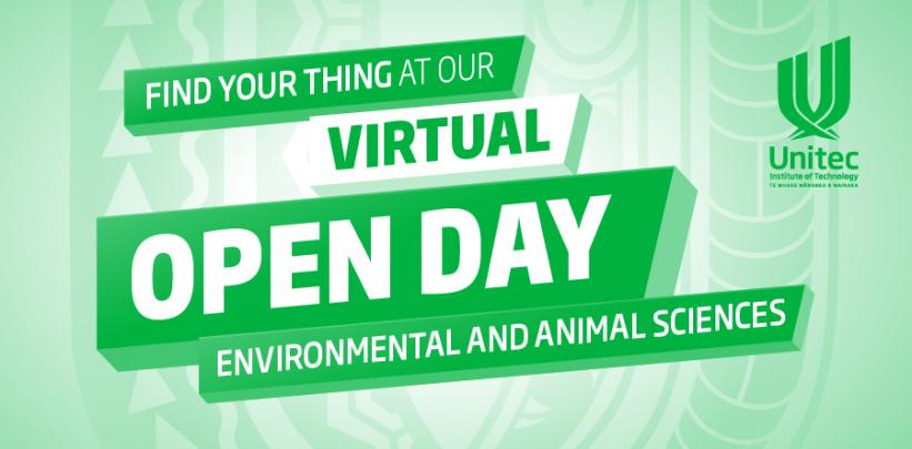 Environmental and Animal Sciences - Virtual Open Day