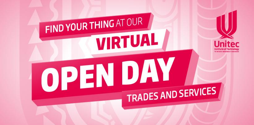 Trades and Services - Virtual Open Day