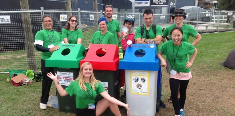 Student village benefits from recycling