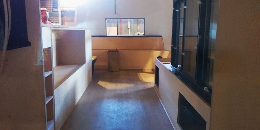 Airstream after interior design