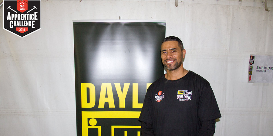 Robert Piutau winning the Regional NZCB Apprentice Challenge held at MOTAT. He then went on to the National Competition, where he came second.