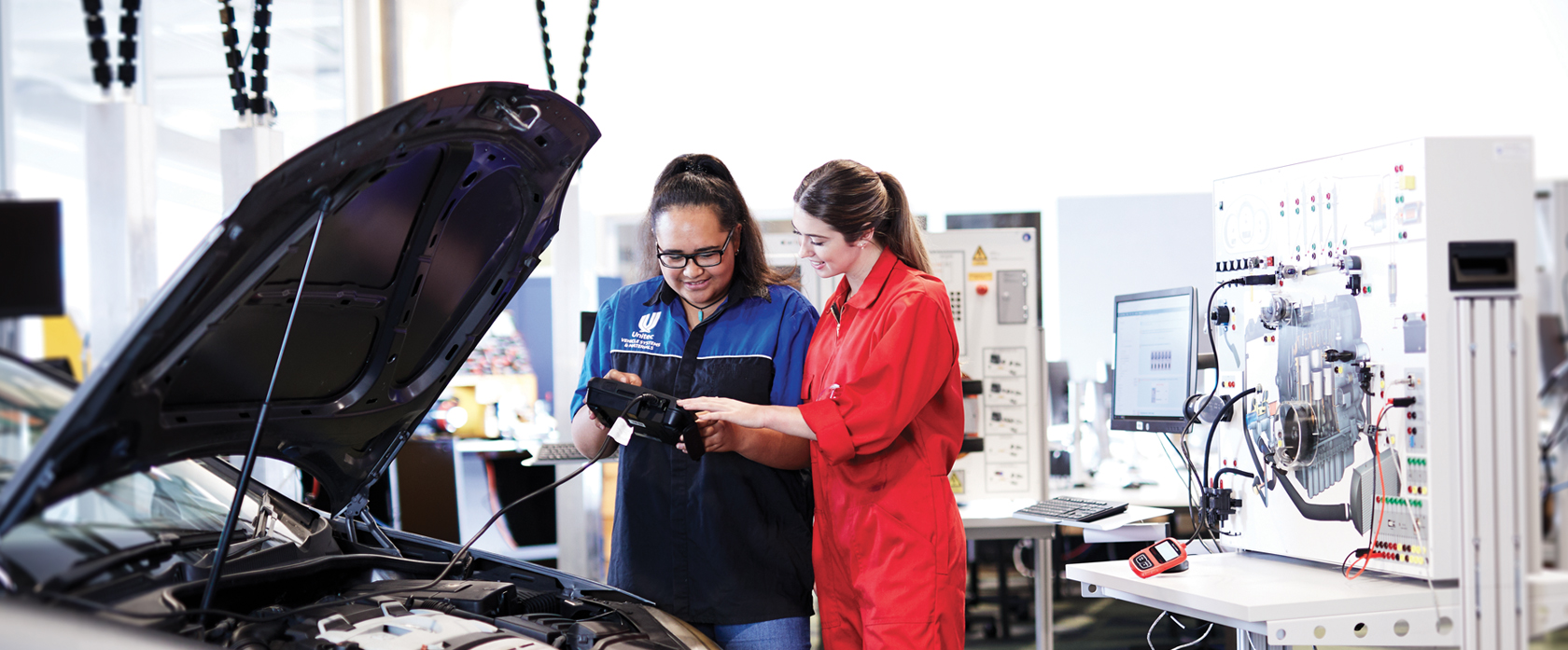 Study Automotive Engineering at Unitec Institute of Technology in Auckland, New Zealand!