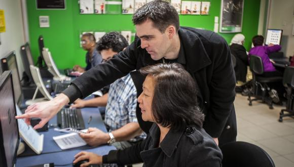 Unitec's Free4U Computing Lab in Birkenhead, North Shore, Auckland, has re-opened in Mayb 2019.