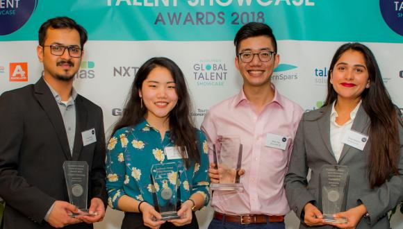 Unitec International student Vinay Kumar has been selected for a prestigious IT-Digital Tech internship at Southern Spars after winning a place at the inaugural Global Talent Showcase 2018.