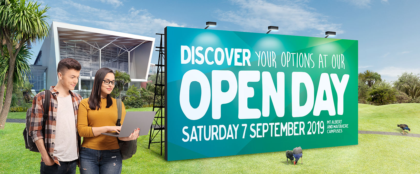 Come to Unitec's Open Day this Saturday, 7th of September! Study in Auckland, New Zealand with Unitec. Certificate, Diploma, Degree or Postgraduate study